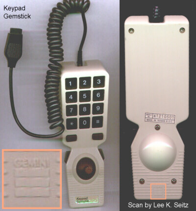 [Scans of the Keypad Gemstick]