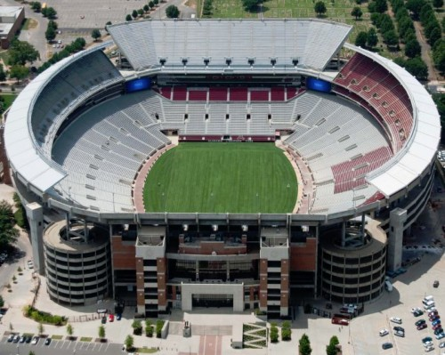 Alabama Football Fields